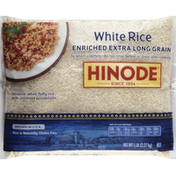 Hinode White Rice, Enriched, Extra Long Grain