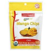 Yogavive Mango Chips, Organic, Popped, Chili
