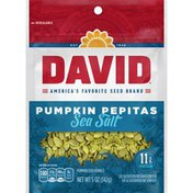 DAVID Seeds Pumpkin Pepitas Sea Salt