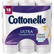 Cottonelle Ultra Comfort Care Large Rolls Toilet Paper