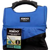 Igloo Cooler Bag, Blue/Black, Maximum, 9 Cans