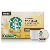 Starbucks Vanilla Flavored Ground Coffee K-Cup Pods