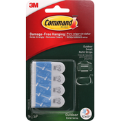 3M Command Refill Strips, Outdoor, Small