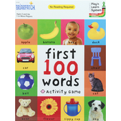 Briarpatch First 100 Words Activity Game, Ages 2 and Up