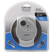 Craig MP3 CD Player, with Earbuds