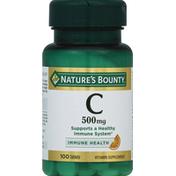 Nature's Bounty Vitamin C Tablets