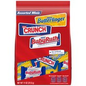 Nestle Assorted Minis Butterfinger/Crunch/Baby Ruth Chocolate Candy Bars
