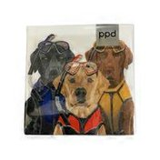 Paperproducts Design PPD 3 Musketeers Beverage Napkins