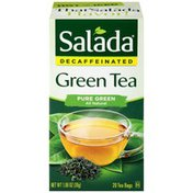 Salada Decaffeinated Pure Green Tea Tea Bags