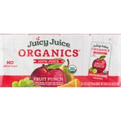 Juicy Juice 100% Juice, Fruit Punch, 8 Pack