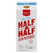 Market Pantry Half & Half, Fat Free