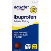 Equate Ibuprofen, 200 mg, Coated Tablets