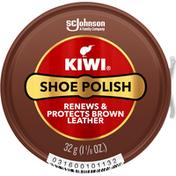 Kiwi Shoe Polish, Brown Leather