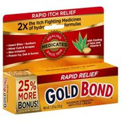 Gold Bond Anti-Itch Cream, Maximum Strength, Rapid Relief, Bonus