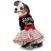 Holiday Extra Small Santa Baby Dress
