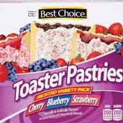 Best Choice Variety Pack Toaster Pastries