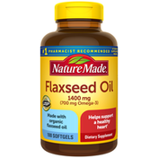 Nature Made Flaxseed Oil 1400 mg Softgels