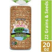 Oroweat Organic Thin-Sliced 22 Grains & Seeds Bread