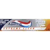 Aquafresh Toothpaste, Fluoride, Mint Blast