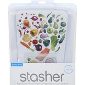 Stasher Storage Bag, Plastic-Free, Reusable