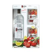Ketel One Family Made Vodka with Two Limited Edition Glasses