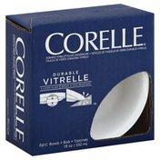 Corelle Bowls, Vitrelle, Winter Frost White, 18 Ounce