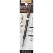 L'Oreal Brow Stylist Definer Ultra-Fine Tip Shaping Pencil 392 Light Brunette