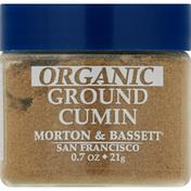 Morton & Bassett Spices Cumin, Organic, Ground