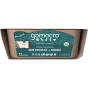 GoMacro Macrobar, Dark Chocolate + Almonds