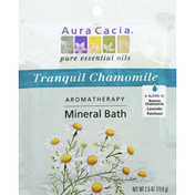 Aura Cacia Tranquility Aromatherapy Mineral Bath, Spring Flowers Aroma