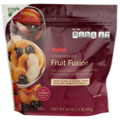 Hy-Vee Unsweetened Fruit Fusion With Sliced Apples, Dark Sweet Cherries, Sliced Oranges And Sliced Peaches