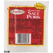 Hormel Sliced Dry Salt Cured Salt Pork