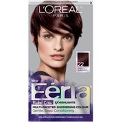 Feria 22 Deep Burgundy Hair Color