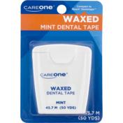 CareOne Waxed Dental Tape Mint