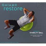 Gaiam Stability Ball, Strong Back