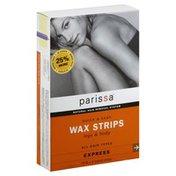 Parissa Wax Strips, Legs & Body, All Hair Types