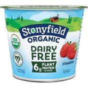 Stonyfield Organic Dairy Free Strawberry Soy Yogurt