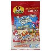 Sun-Maid Raisins, Vanilla Yogurt Flavored, Mini-Snacks