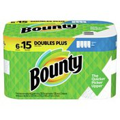 Bounty Paper Towels, Select-A-Size, White