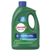 Cascade Complete Gel Dishwasher Detergent, Fresh Scent
