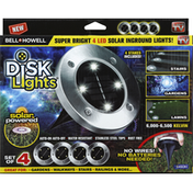 Bell and Howell Disk Lights