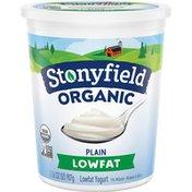 Stonyfield® Organic Plain Lowfat Yogurt