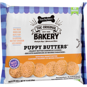 Three Dog Bakery Treats for Dogs, Sandwich Cookies, Peanut Butter
