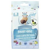 Natural Essentials Wipes, Candy Cane, Forehead & Body, Fever-eez, Bag