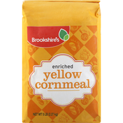 Brookshire's Cornmeal, Yellow, Enriched