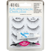 Ardell Lashes, Black 110, Multipack Deluxe