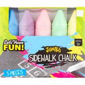 Let's Have Fun! Chalk, Sidewalk, Jumbo