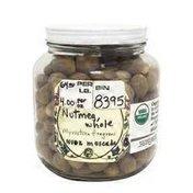 Organic Whole Nutmeg Seed