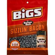 BiGS Bacon Salt Sizzlin Bacon Sunflower Seeds