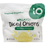Inspired Organics Onions, Organic, Diced